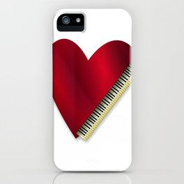 Love Playing Piano iPhone Case