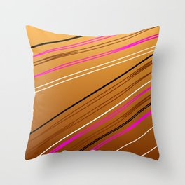 Soft Brown Throw Pillow