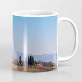 Winter morning in the vineyards of Collio, Italy Coffee Mug