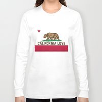2pac Long Sleeve T-shirts featuring California Love by Poppo Inc.