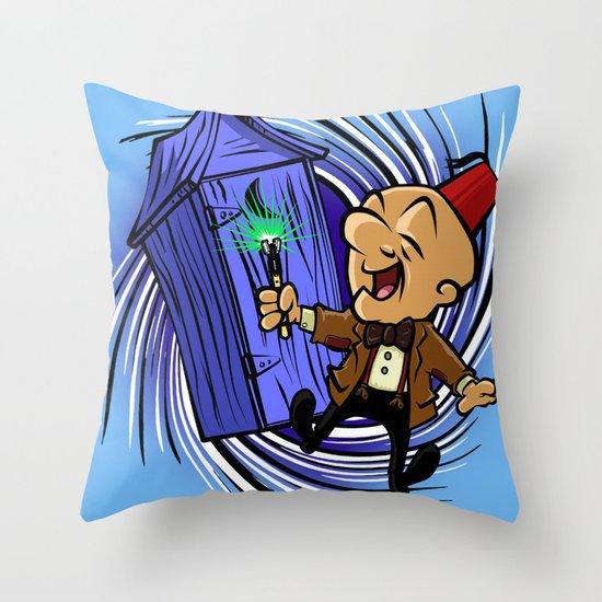 Dr Magwho Throw Pillow
