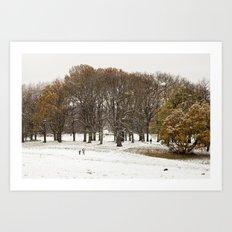 This beautiful winter Art Print