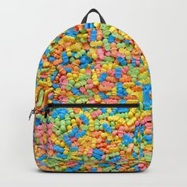 Mini Baby Pacifier Pastel Candy Pattern Backpack