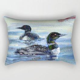 loons Rectangular Pillow