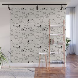 More Sleep Frenchie Wall Mural