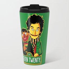 E is for Entertainment Travel Mug