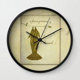 A Fairie Princess Dreamed  Wall Clock
