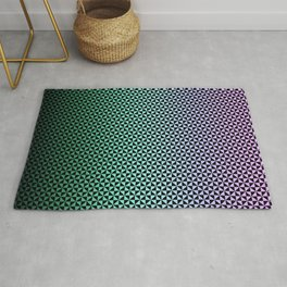 Design pattern and gradient Rug