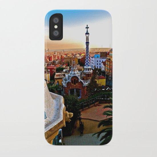 Barcelona - Gaudí's Park Güell iPhone Case