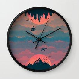 Sunrise / Sunset Wall Clock
