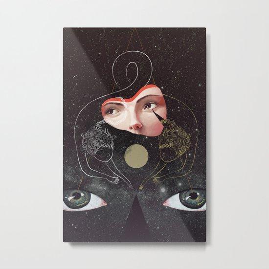 Sister Metal Print