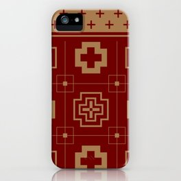 The Directions (Maroon) iPhone Case