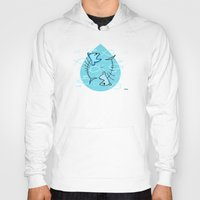 pisces Hoodies featuring Pisces by Giuseppe Lentini