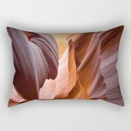 antelope canyon beam Rectangular Pillow