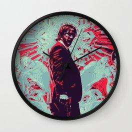 Keanu Reeves John Wick Wall Clock