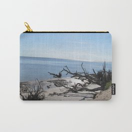 The Boney Trees on the Beach Carry-All Pouch