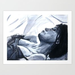 Lonely Hands Art Print