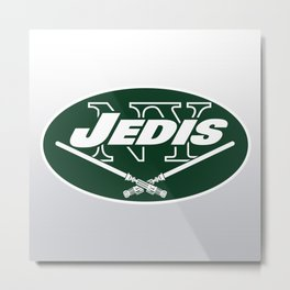 New York Jedis - NFL Metal Print