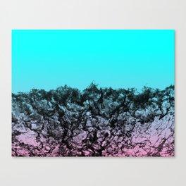 Black Water Horizon Canvas Print
