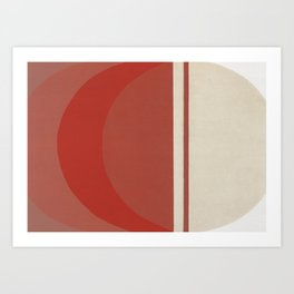 The Moon and the Tide 3 Art Print