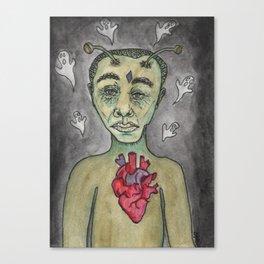 Haunted Heart Canvas Print