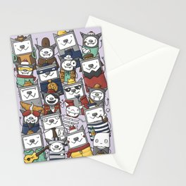 CATS'N'BATS Stationery Cards