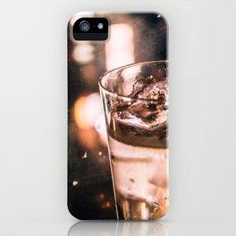 Golden shimmer - Bar iPhone Case