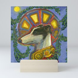 St. Guinefort the Greyhound Mini Art Print