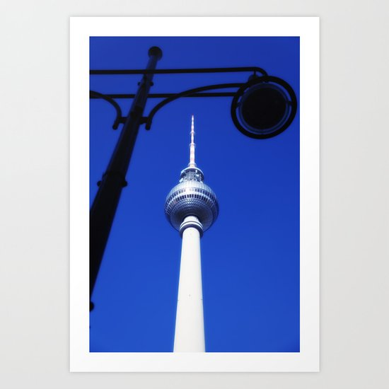 Berlin TV Tower No.3 Art Print