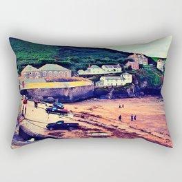 Doc Martin's House at Portwenn Rectangular Pillow