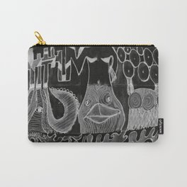 the bull, the duck and the owl Carry-All Pouch