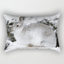 The white beast Rectangular Pillow