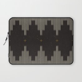 Southwestern Minimalist Black & White Laptop Sleeve