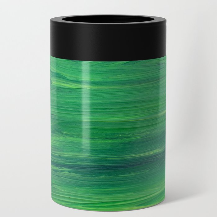 Shades of Green Can Cooler