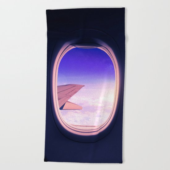 Travel The World Beach Towel