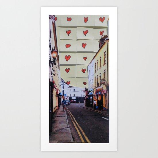 dominick St, Galway Art Print
