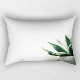 Simply Succulent Rectangular Pillow