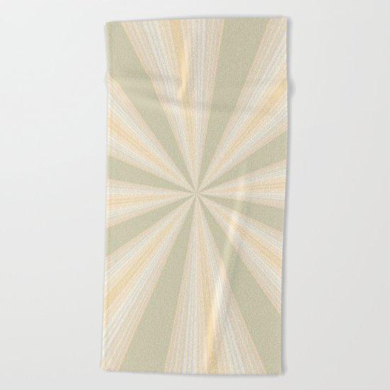 Summer Rays II Beach Towel