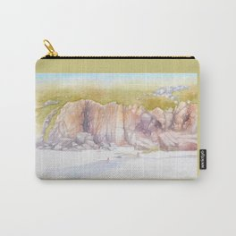 Porthcurno cliffs Carry-All Pouch