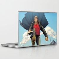 dracula Laptop & iPad Skins featuring Dracula by Eco Comics