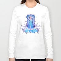 elsa Long Sleeve T-shirts featuring Elsa by NicoleGrahamART