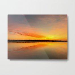 Peaceful Reflections Metal Print