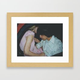 Do You remember the first time? Framed Art Print