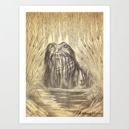 Wodnik Art Print