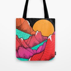 The islands and the sea Tote Bag