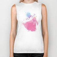 science Biker Tanks featuring Science! by Melissa Smith
