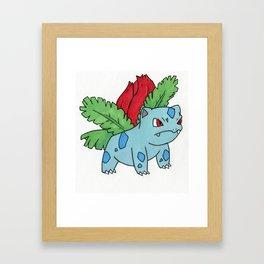 Ivysaur Framed Art Print