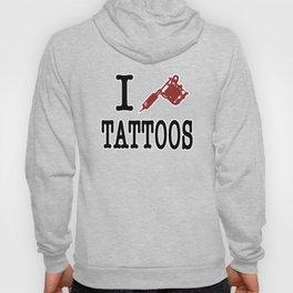 I love Tattoos Hoody