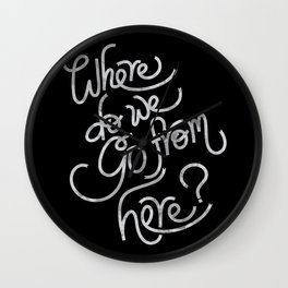 where do we go from here Wall Clock