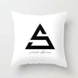 Sellah Africa Icon  Throw Pillow